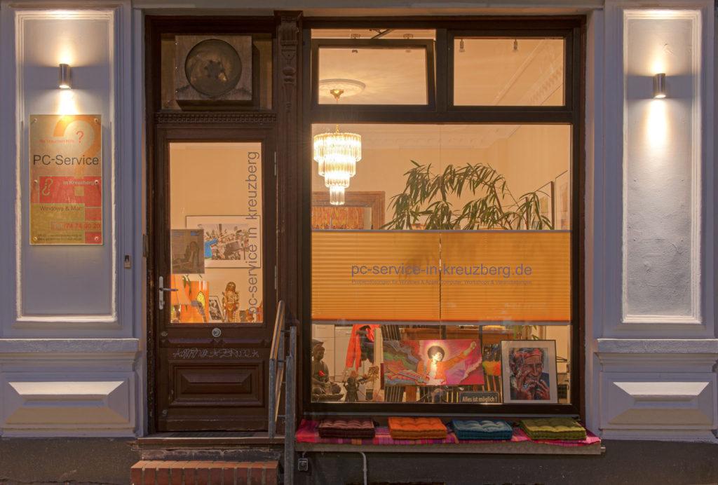 PC-Service in Kreuzberg - Der Laden in der Urbanste. 34 ist zwischen Südstern und Graefekiez gelegen